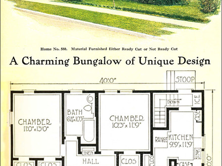 Sears Craftsman Bungalows Small Craftsman Bungalow House Plans