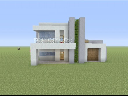 Minecraft Small Modern House Designs Small Modern House Minecraft Build