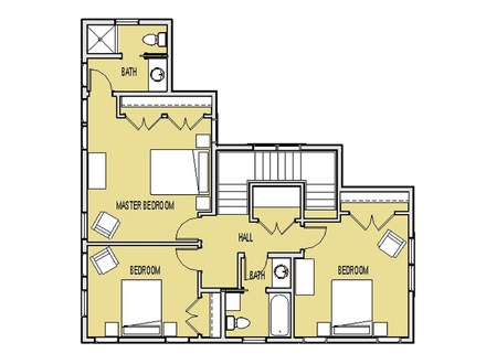 Small house floor plans under 500 sq ft very small house for Very small house floor plans
