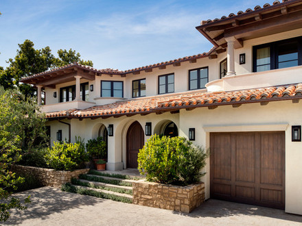 Mediterranean Style Home Exterior Ranch Style Home Exteriors