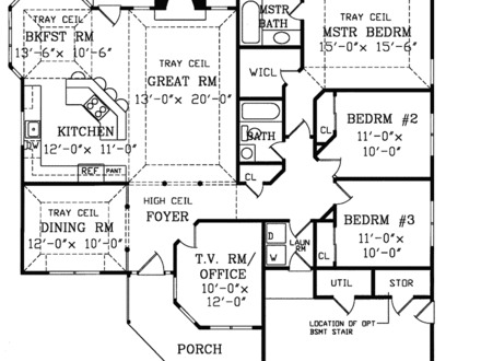 Modern Ranch Homes Floor Plans Modern Ranch Home Interiors