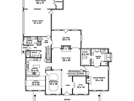 Southern plantations in the 1800s old southern plantation Plantation house floor plans