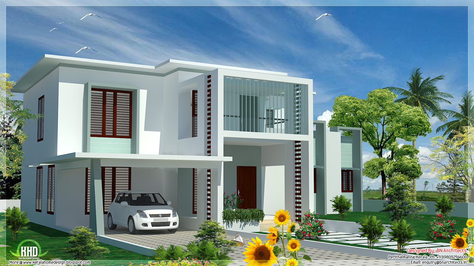 Simple House Plans Flat Roof Flat Roof Modern House Plans