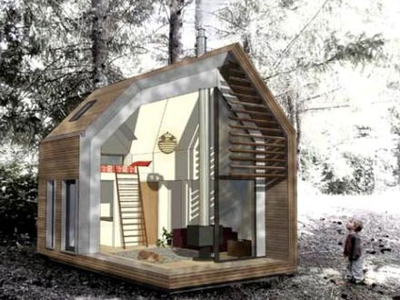 Small Green Homes Prefab Houses Compact Green Homes
