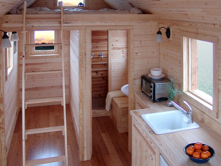 Tiny House Floor Plans Inside Tiny Houses