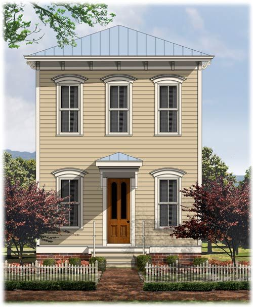Italianate garage plans victorian italianate house plans for Italianate house plans
