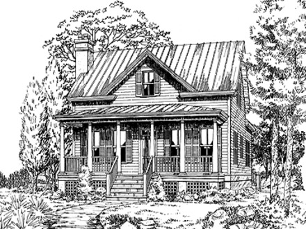 Low Country Acadian House Plans Low Country House Plan - Low ...