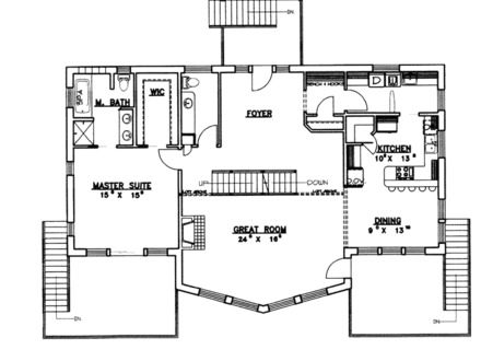 Waterfront House Plans Small House Plans Waterfront