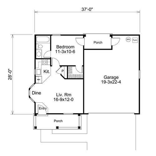 garage apartment plans 2 bedroom 2 car garage with apartment above 1 bedroom garage 18778