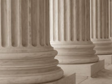 Classical Columns Neoclassical Columns Stock Image