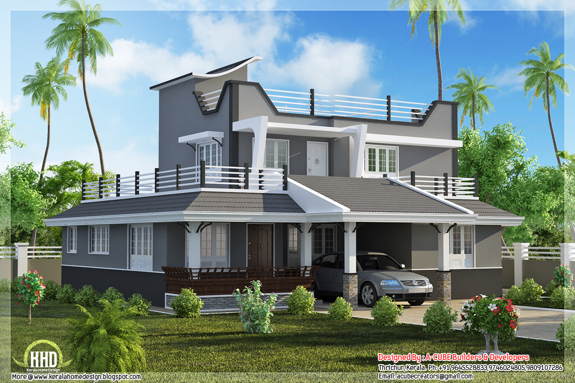 Contemporary Style Homes Colonial Style Homes, home plans ...
