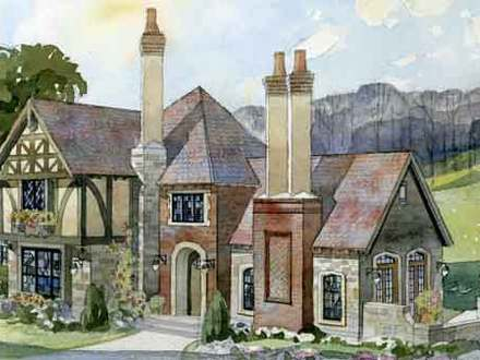 French Tudor Style Homes English Tudor Cottage House Plans