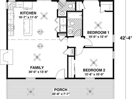 Full hip small ranch house small ranch house floor plans for Best ranch house plans 2016