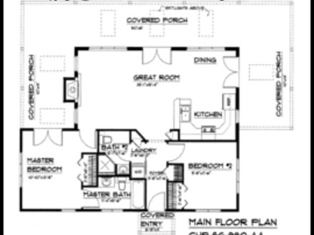 Small house plans under 1000 sq ft simple small house for Very simple small house plans