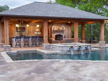Backyard pool house designs outdoor pool house designs for 10x20 tiny house floor plans