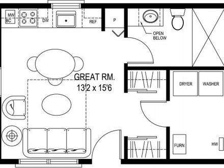 Small Cabin House Floor Plans Small Cabin Blueprints