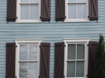 Board and Batten Cottages Board and Batten Exterior Shutters