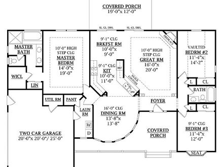 Homes Under 1800 Square Feet 1800 Square Feet Floor Plans