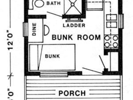 Fishing Hunting Cabin Plans Rustic Cabin Plans Hunting