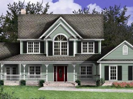 Future house designs future houses 2050 modern country for Simple country home plans