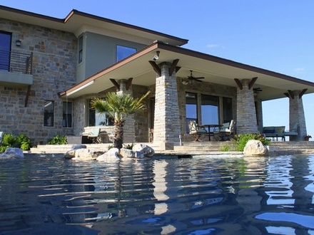 California luxury homes with pools luxury mansions for Luxury custom home designs