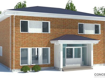 Small Modern Contemporary House Plans Tropical Small House Cottage