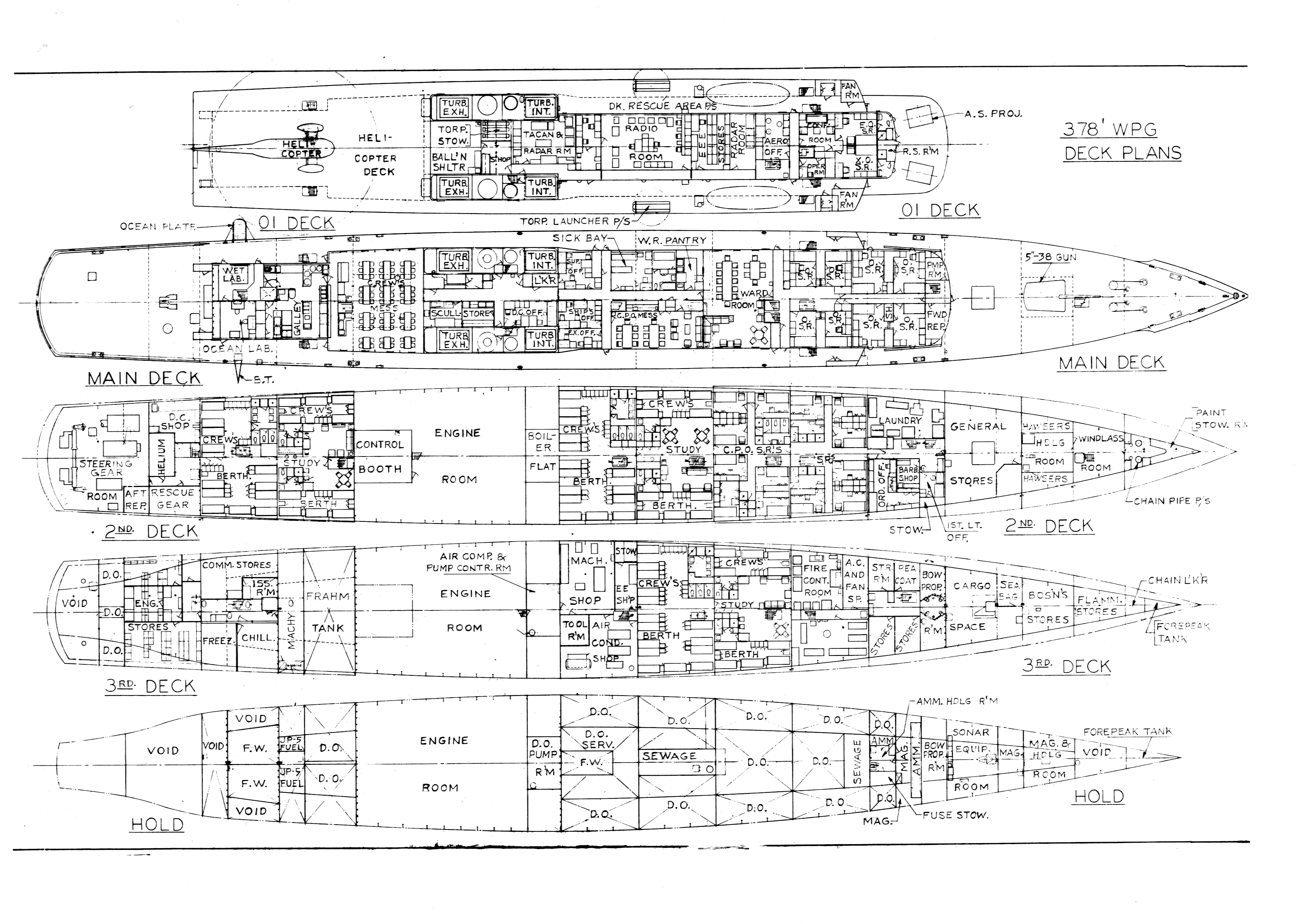 Warship deck plans sci fi warships deck plans warship for Drawing deck plans
