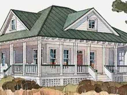 One level house plan one level house plans with wrap for Single level home with wrap around porch