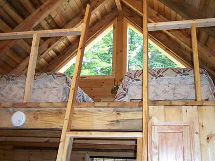 Small cabin house design exterior ideas small cabin homes for Small mountain cabin plans with loft