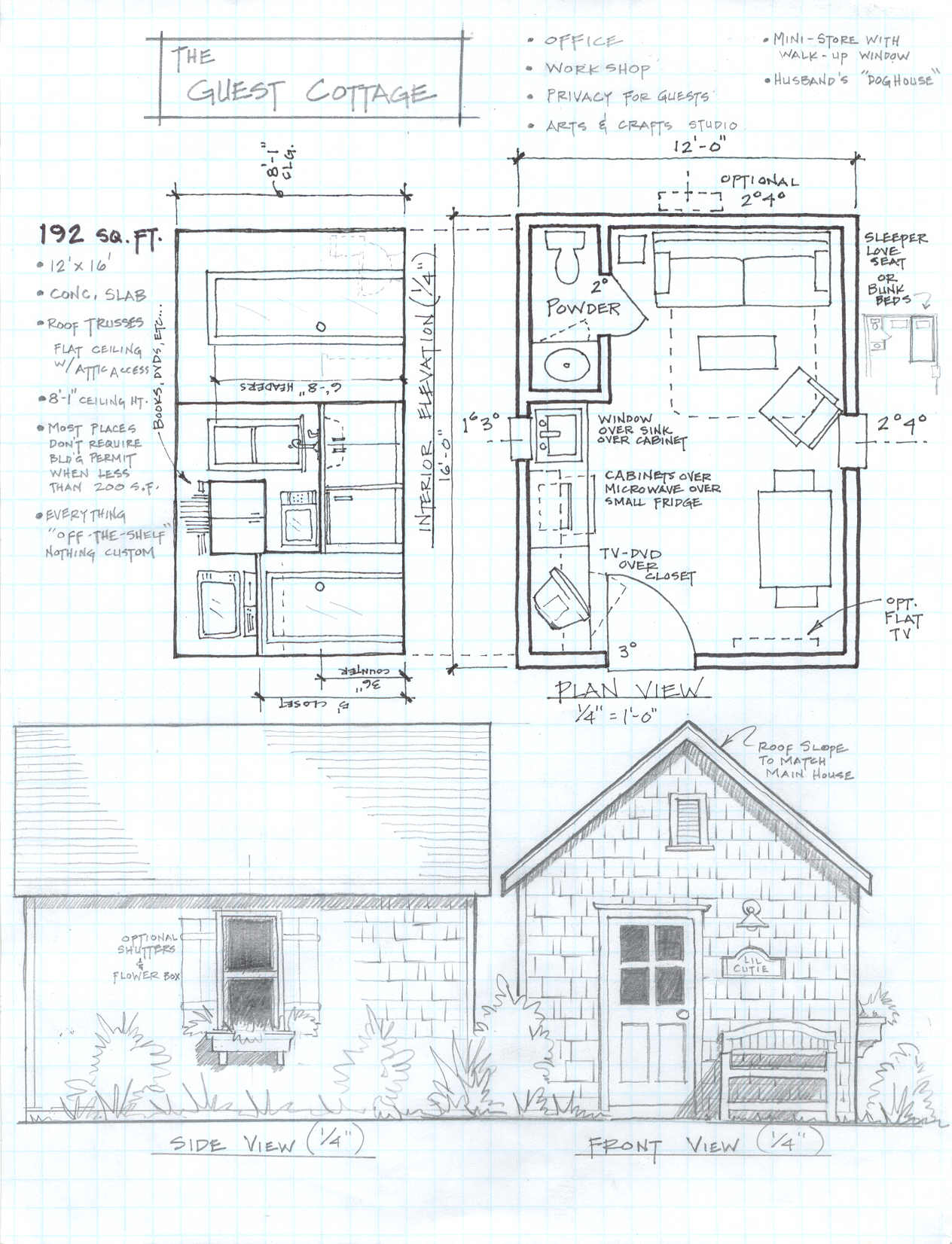 Small Cabin House Plans Free Small Ranch House Plans ...