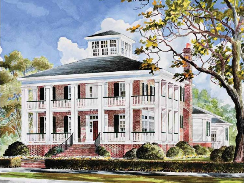 Southern plantation homes house plans victorian house for Southern plantation house plans
