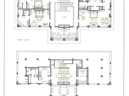 Center hall colonial open floor plans open floor plan for Colonial luxury house plans