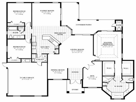3D Floor Plan Home Design Design Homes Floor Plans