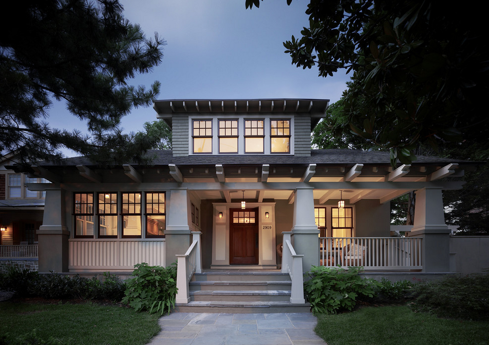 Cottage Style Homes Craftsman Bungalow Style Home Exterior