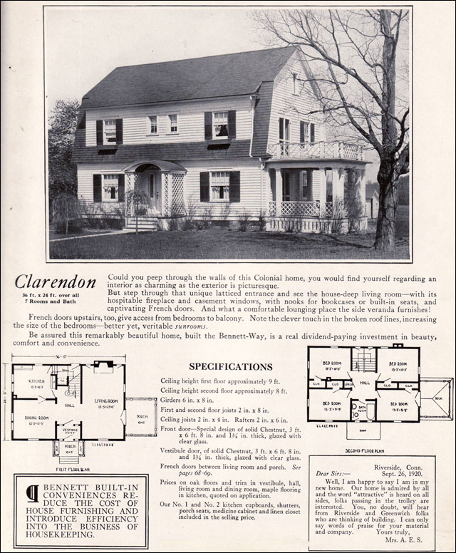 Colonial House Plans: Gambrel Dutch Colonial House Plans Dutch Colonial Gambrel