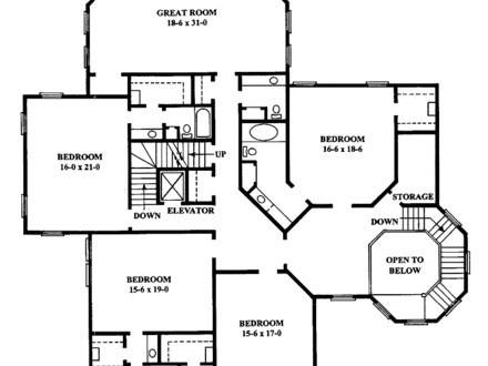 Queen Anne House Floor Plans Colonial House