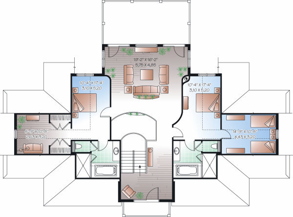 beach house blueprints image search results Beach House Construction