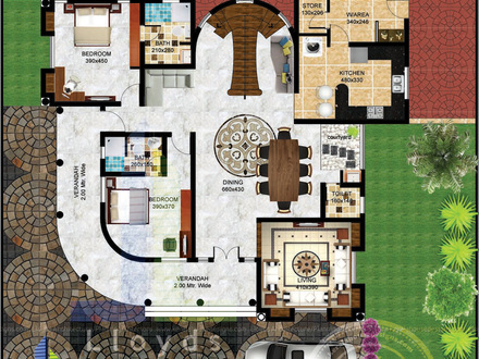Bungalow Floor Plans 3D Studio 3D Floor Plans