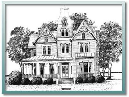 Historic house floor plans authentic historic floor plans for Victorian row house plans