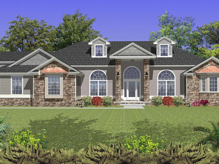 Simple colonial house plans classic colonial home plans for Colonial ranch house plans