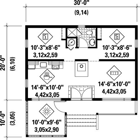 House plans under 600 sq ft country house plans 600 sq ft House plans under 600 sq ft