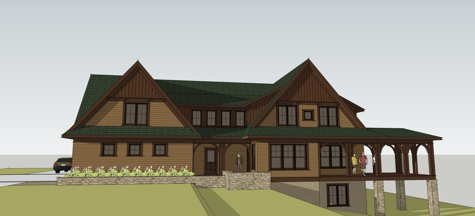 Luxury craftsman home custom craftsman home designs for Custom home layouts