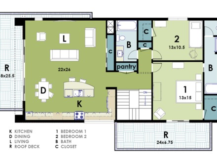 Small Modern House Floor Plans Modern Grey Tile Floor