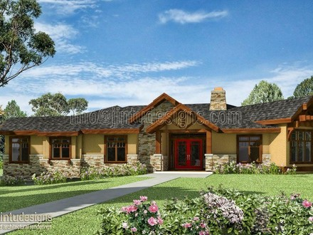 Ranch Home Plans With Stucco Ranch Home Plans With