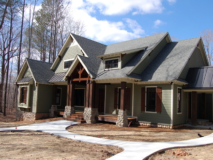 Craftsman Style Home Interiors Craftsman Style Homes with Shutters