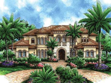 Mediterranean Floor Plans Home Mediterranean House Plans