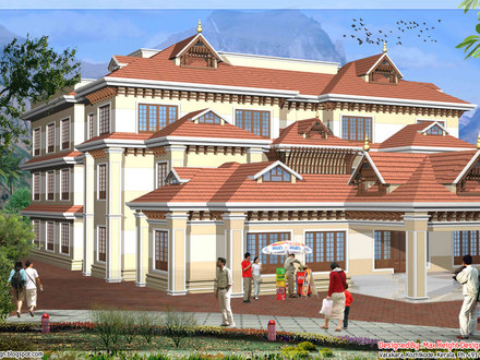House models with plans for Kerala new house models