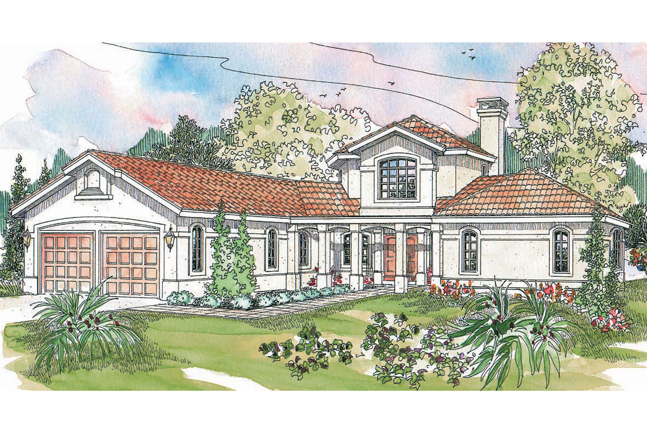 Spanish style homes house plans french style houses for French style house plans