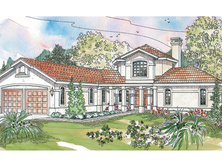 Spanish mission style house plans california mission style for Mission home plans