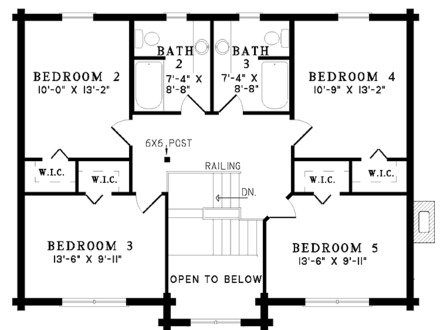 Just a sample of available floor plans for log homes for 5 bedroom log home plans